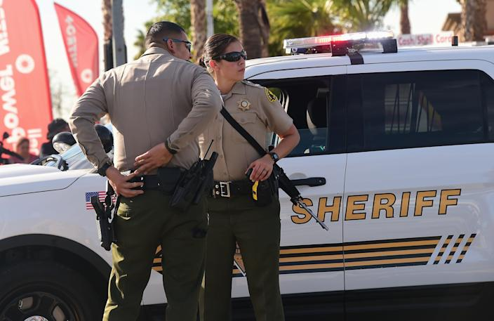 Representational Photo. A South California deputy sheriff will be under investigation after a video showed him kicking a man in the head.  (AFP via Getty Images)