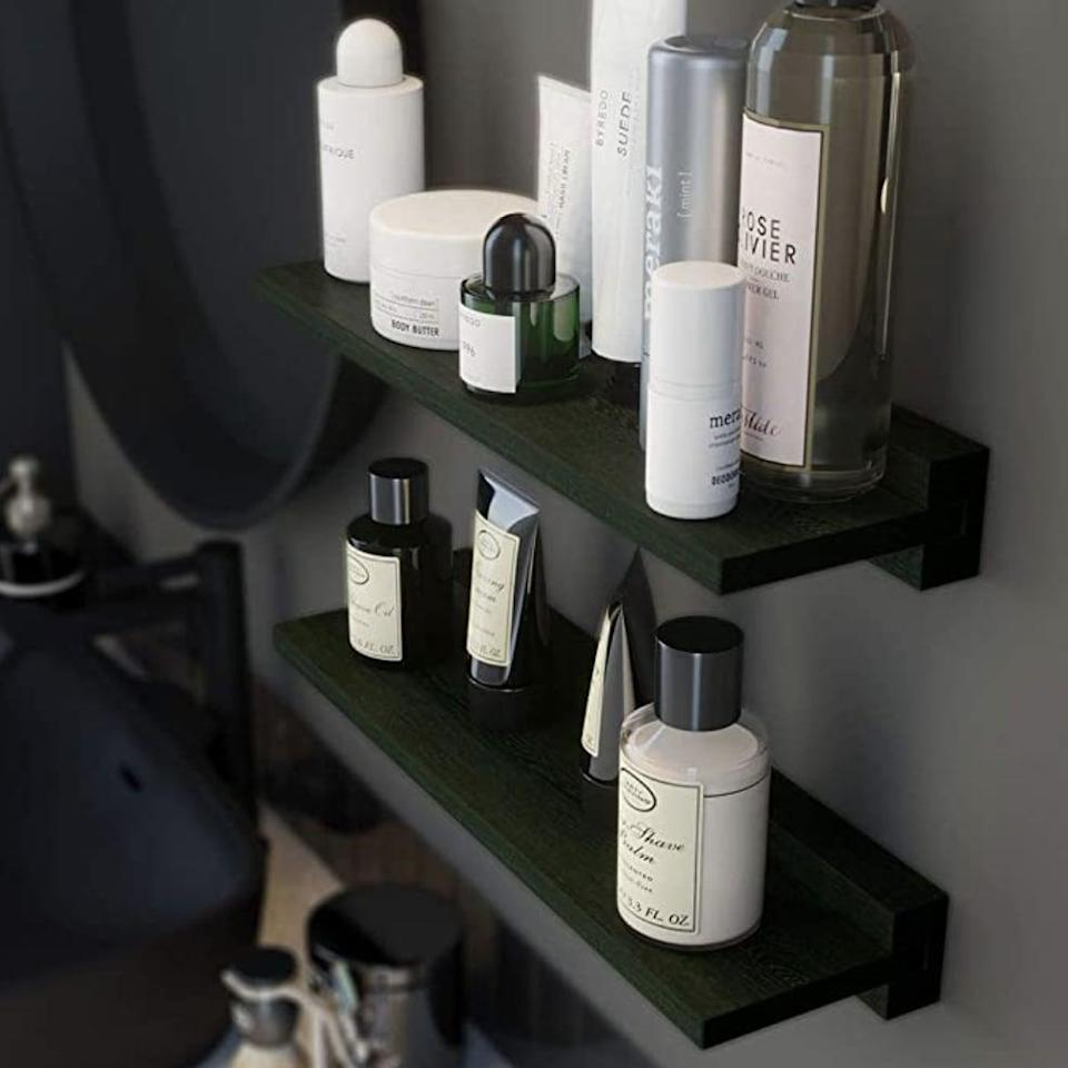 <p>This <span>Babaka Floating Shelf</span> ($26) is stylish and functional.</p>