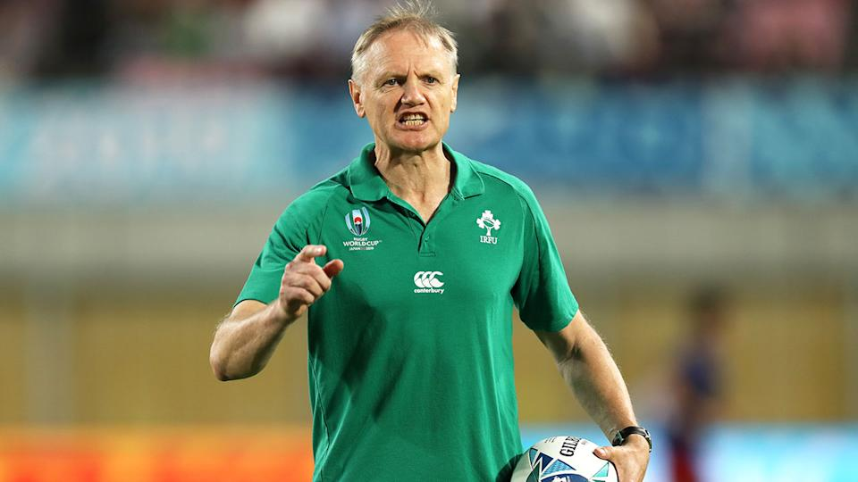 Ireland coach Joe Schmidt is confident his side can beat New Zealand in the quarter-finals.