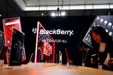 BlackBerry stock up as Q4 results beat estimates for revenue, profit