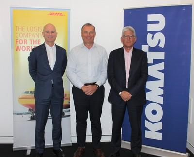 Komatsu signs multi-year deal with DHL in Australia to