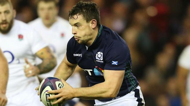 Scottish Rugby have offered no details as to why back-row John Hardie is unavailable for selection.