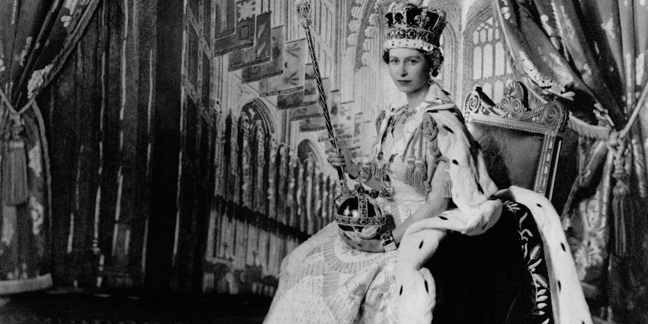 """<p>As <em><a rel=""""nofollow"""" href=""""http://www.harpersbazaar.com/culture/film-tv/a18060/the-crown-on-netflix/"""">The Crown</a></em>, which chronicles the early years of Queen Elizabeth II's reign, premieres on Netflix, we take a look back at iconic moments from her life.</p>"""