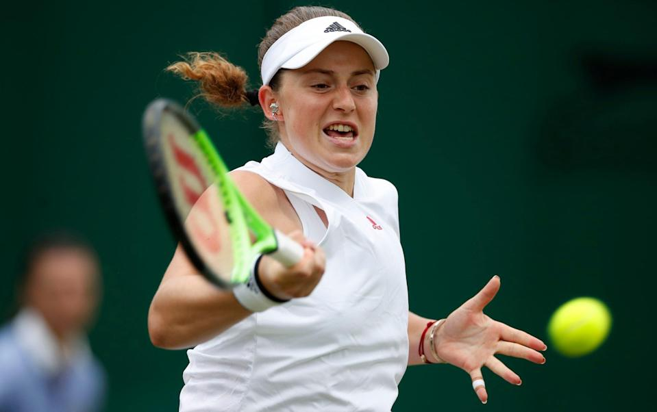 Ostapenko called for the trainer at 4-0 down in the third set, enraging her opponent - REUTERS