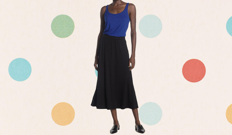 Quite possibly the prettiest swingy skirt we've seen. (Photo: Nordstrom Rack)