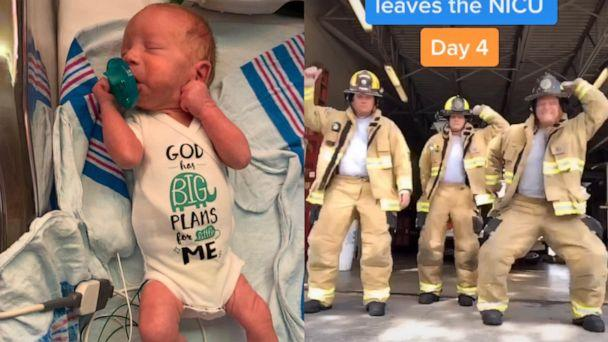 PHOTO: Chris Askew of Osteen, Florida, has danced in 23 videos viewed by 6 million. Askew and his wife, Danielle, who are parents to Hunter, 5, Nathan, 3 and CJ, 1, welcomed a fourth son, Dylan, on Jan. 12. (TikTok/skewu)