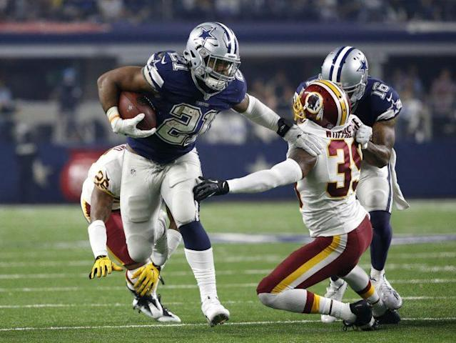 Ezekiel Elliott could have his case for an alleged bar altercation suspended by the Dallas Police Department. (AP)