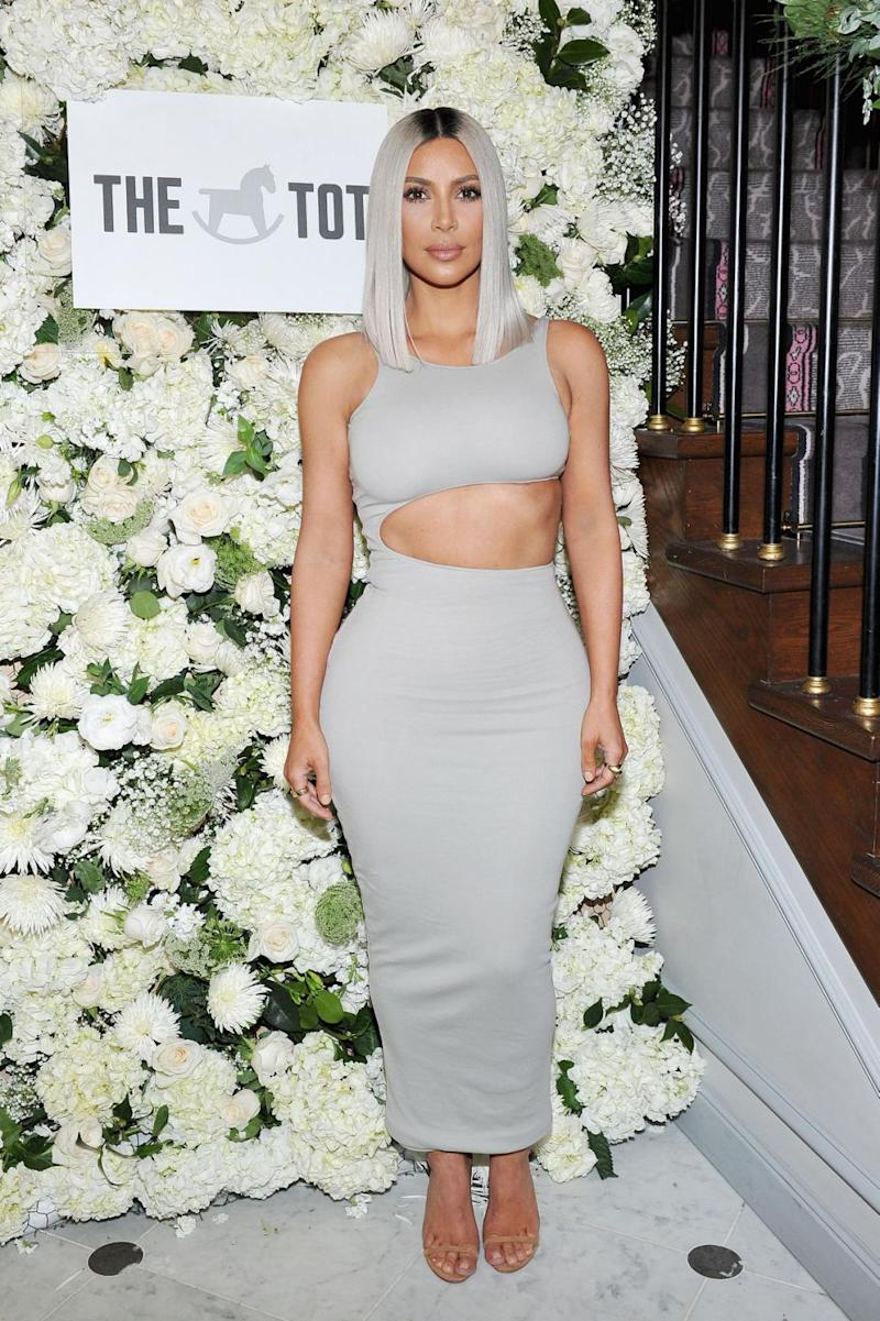 Kim Kardashian's perfume isn't being shipped to Australia, reports say. (Photo: Getty Images)