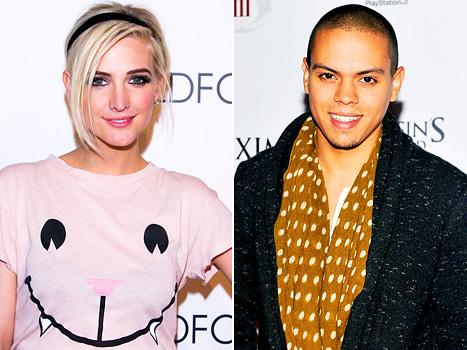 Ashlee Simpson and Evan Ross Fuel Romance Rumors at July 4th Party