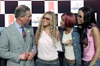 <p>Not one to miss out on meeting the stars of the moment, Prince Charles later met Destiny's Child at Party in The Park – a concert in Hyde Park. <em>[Photo: Getty]</em> </p>