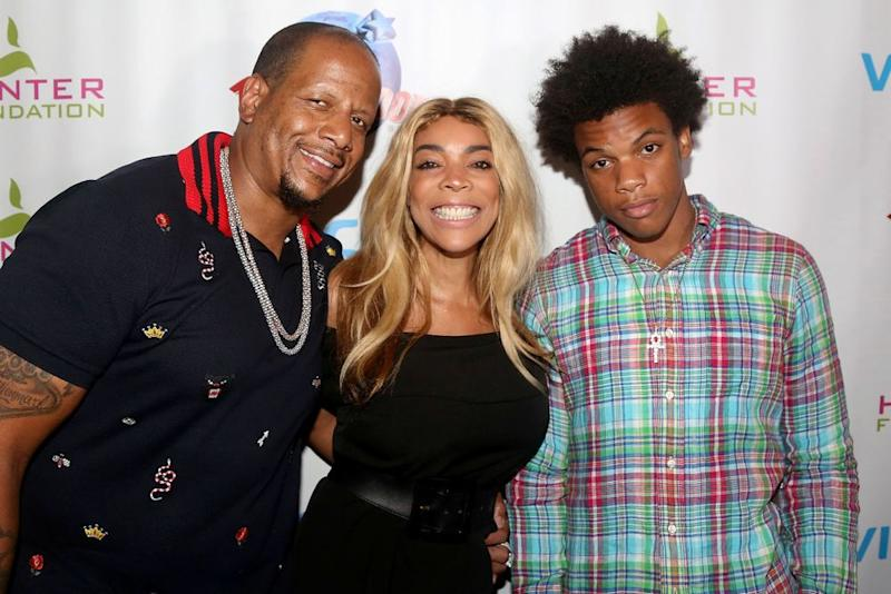 Kevin Hunter, Wendy Williams and their son Kevin Jr. | Bruce Glikas/Bruce Glikas/Getty Images