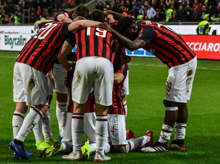 AC Milan have been kicked out of next season's Europa League