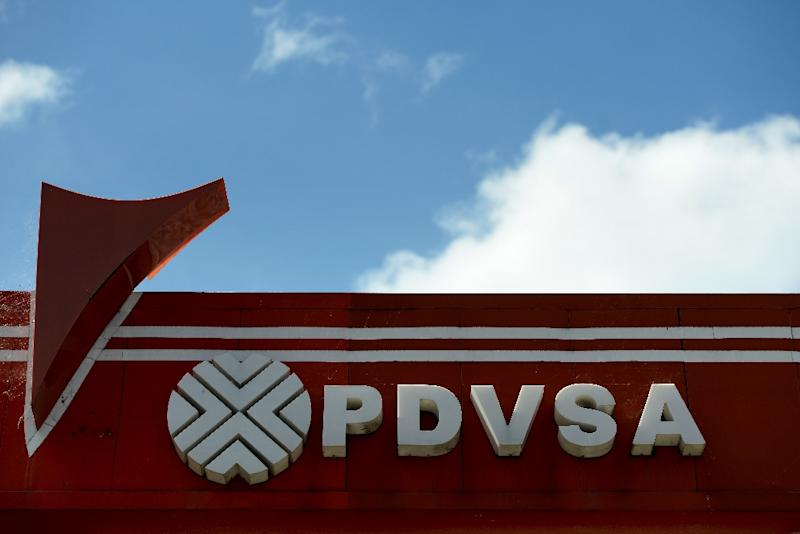U.S. imposes sanctions on Venezuela state oil firm PDVSA