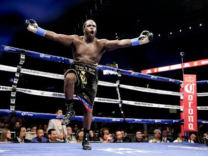 Bermane Stiverne will defend his WBC title Saturday against Deontay Wilder. (AP)