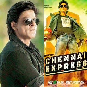 Shah Rukh Khan Wraps Up 'Chennai Express'