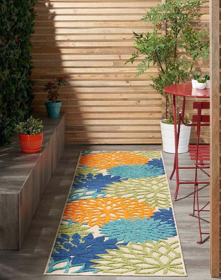 7 Affordable Outdoor Rugs To Add To Your Patio Porch Or Deck