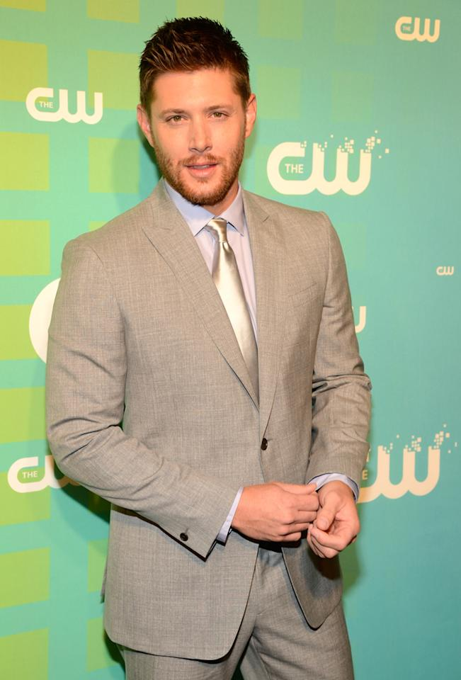 "Jensen Ackles (""Supernatural"") attends The CW's 2012 Upfronts on May 17, 2012 in New York City."