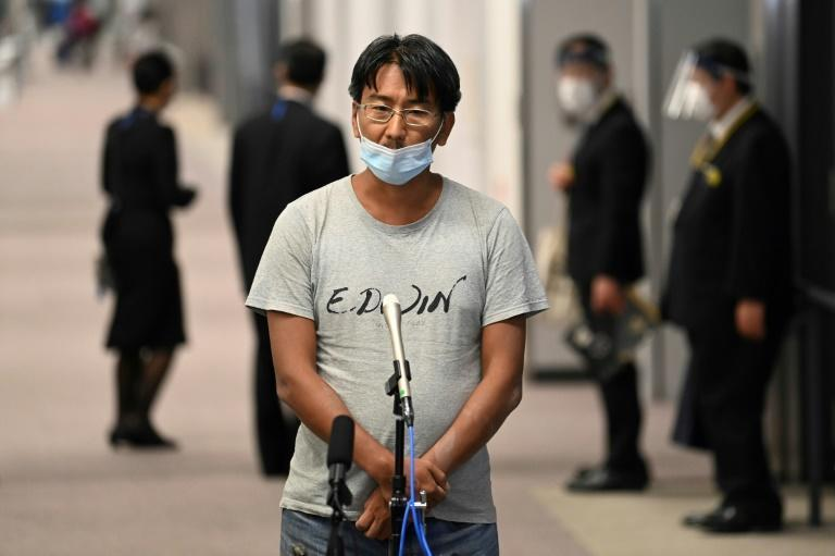 Japanese journalist Yuki Kitazumi, who was arrested while covering the aftermath of the Myanmar coup, has arrived in Tokyo after charges against him were dropped