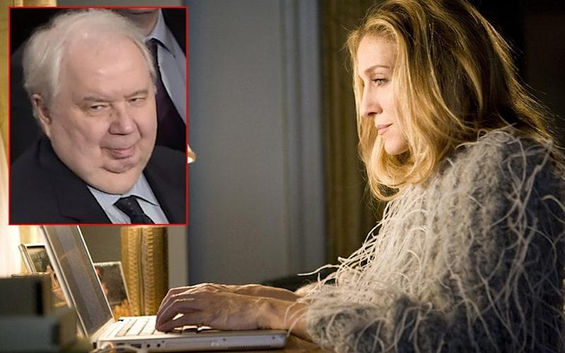 Sarah Jessica Parker can meet Sergey Kislyak, inset, the foreign ministry said - Copyright (c) 2008 Rex Features. No use without permission.