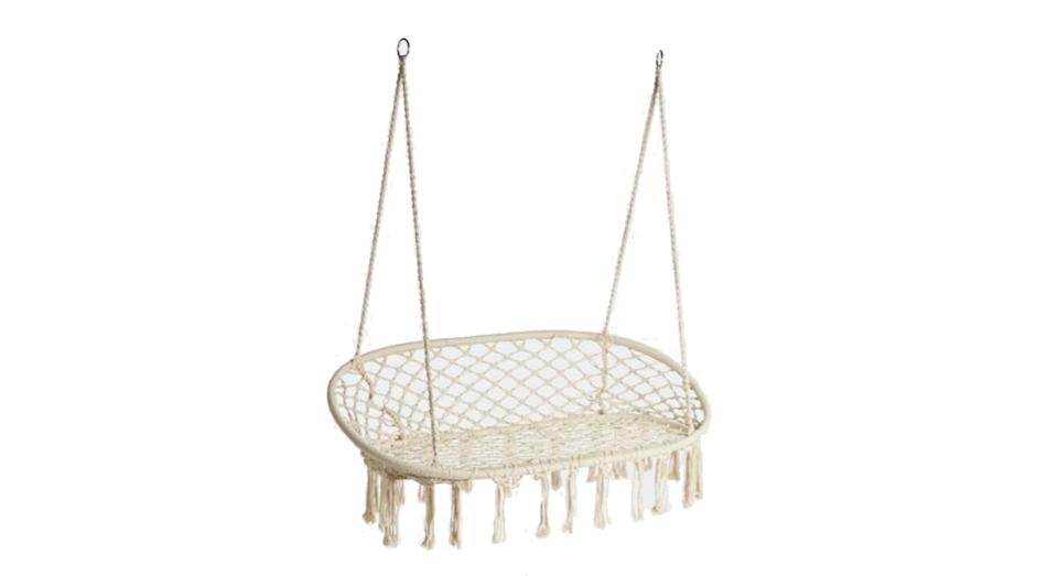 Double Rope Hanging Chair