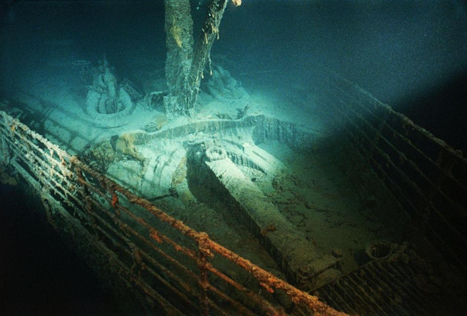 <p>The Titanic is arguably the most recognizable shipwreck in the world – with the bow of the wreckage serving as one of the most iconic wreck images in history. The passenger liner, the largest of its time, hit an iceberg and sank in the Northern Atlantic during the early morning hours on April 15, 1912. A French-American expedition didn't discover the wreck until September 1985.</p>