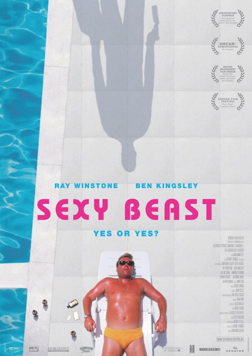 """<p>Let's get into some modern classics. Ben Kingsley leads this electric British gangster film, which doubles as a heist movie. It's also very funny, but in a kinda messed up way.</p><p><a class=""""link rapid-noclick-resp"""" href=""""https://www.amazon.com/Sexy-Beast-Ray-Winstone/dp/B001MXW5FC/ref=sr_1_1?dchild=1&keywords=Sexy+Beast+%282000%29&qid=1619533830&s=instant-video&sr=1-1&tag=syn-yahoo-20&ascsubtag=%5Bartid%7C2139.g.36133257%5Bsrc%7Cyahoo-us"""" rel=""""nofollow noopener"""" target=""""_blank"""" data-ylk=""""slk:STREAM IT HERE"""">STREAM IT HERE</a></p>"""