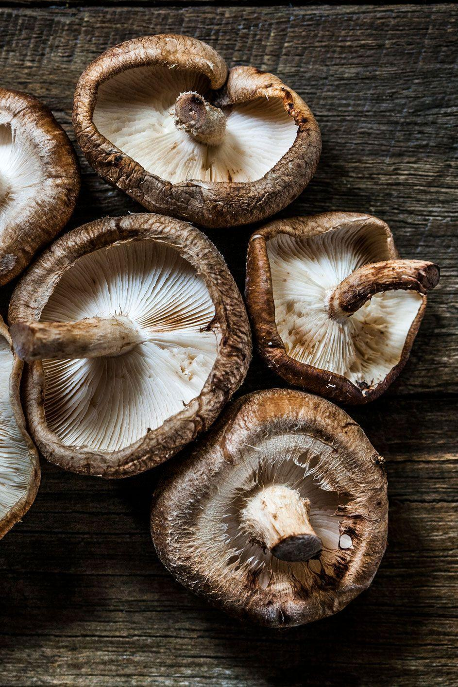 """<p>According to <a href=""""https://www.healthline.com/nutrition/shiitake-mushrooms#section2"""" rel=""""nofollow noopener"""" target=""""_blank"""" data-ylk=""""slk:Healthline"""" class=""""link rapid-noclick-resp"""">Healthline</a>, shiitake mushrooms contain polysaccharides, terpenoids, sterols, and lipids, which have been linked to having cholesterol-lowering and anti-cancer effects.</p><p><strong>Recipe to try:</strong> <a href=""""https://www.womansday.com/food-recipes/food-drinks/recipes/a37558/kale-mushrooms-recipe-rbk1011/"""" rel=""""nofollow noopener"""" target=""""_blank"""" data-ylk=""""slk:Kale with Mushrooms"""" class=""""link rapid-noclick-resp"""">Kale with Mushrooms</a> </p>"""