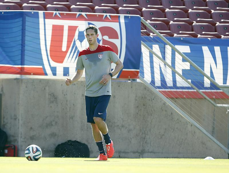 US defender Goodson seeks great role at World Cup
