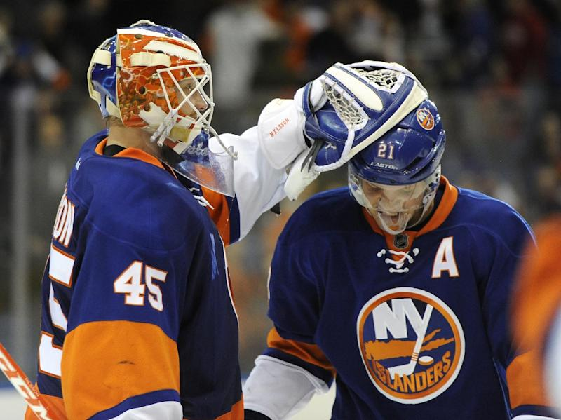 Okposo rallies Islanders to 4-3 SO win over Flyers