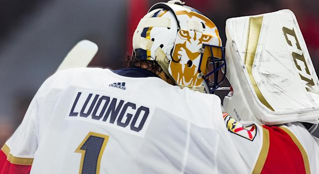 Roberto Luongo will be the first player in Panthers history to have his jersey retired. (Getty)