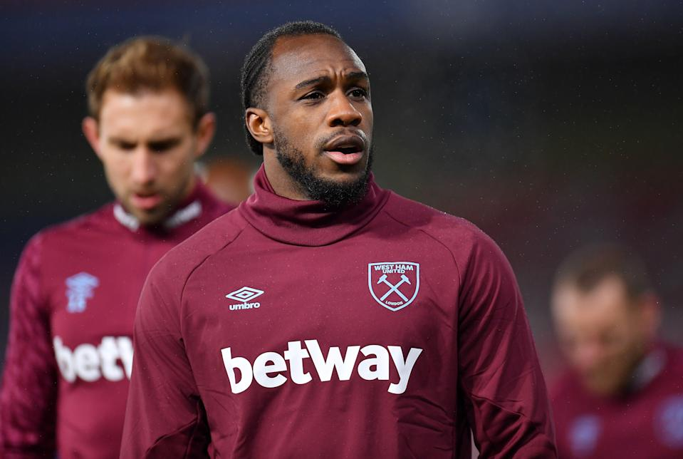 West Ham striker Michail Antonio (Getty Images)