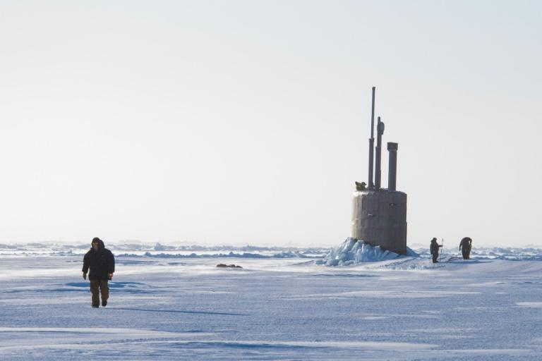 Retreat of Arctic ice is fuelling geopolitical tensions as countries eye the polar north's untapped resources