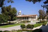 """<p>Los Angeles, California</p><p>Tuition: <a href=""""https://www.oxy.edu/admission-aid/costs-financial-aid"""" rel=""""nofollow noopener"""" target=""""_blank"""" data-ylk=""""slk:$52,260"""" class=""""link rapid-noclick-resp"""">$52,260</a></p>"""