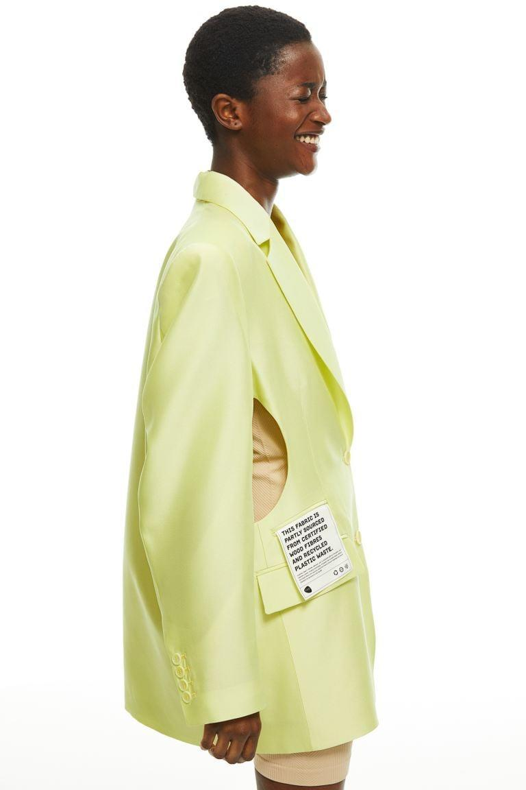<p>This <span>H&amp;M Naia Renew Jacket</span> ($199) is impossibly cool.</p>