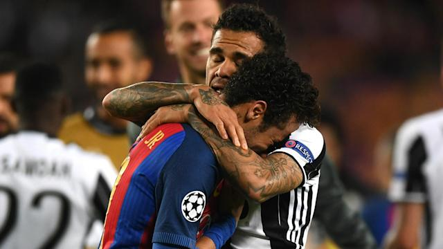 Juventus are celebrating knocking Barcelona out of the Champions League after a draw that also denied Luis Enrique's men some history.