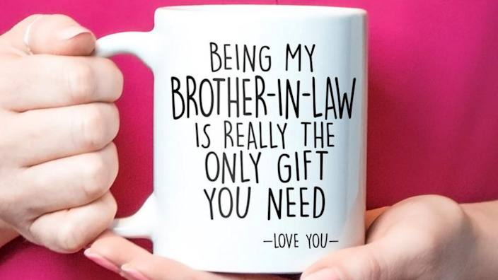 Best gifts for brothers: Novelty mug