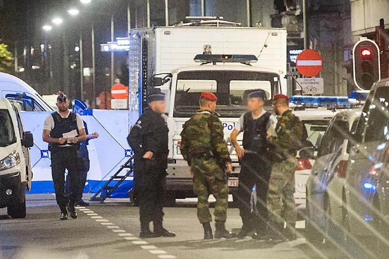 The attack happened near the Grand Place, in central Brussels