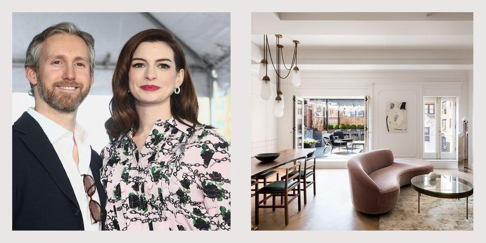 "<p><strong>Oscar award-winning actress Anne Hathaway and her husband, producer and jewellery designer Adam Shulman, are selling their luxe New York City penthouse for $3.495 million. According to <a href=""https://www.wsj.com/articles/anne-hathaway-asks-3-495-million-for-new-york-penthouse-11582133130"" target=""_blank"">The Wall Street Journal</a>, the power couple, who welcomed their second son, Jack, at the end of 2019, purchased the property for $2.55 million in 20</strong><strong>16. </strong><br><br>The minimalist two-bedroom, two-bathroom residence is located in a historic Neo-Georgian mansion on the Upper West Side near Central Park. With the help of Gramercy Design, which is known for working with high-profile clients in the entertainment business, Hathaway and Shulman thoughtfully renovated the penthouse. The result? Original details and period mouldings blend seamlessly with modern updates, ranging from durable white oak flooring to a state-of-the art <a href=""https://www.housebeautiful.com/uk/decorate/kitchen/g423/best-kitchen-design-trends/"" target=""_blank"">kitchen</a> boasting an 18-foot ceiling. </p><p>Scroll down for a look inside the penthouse...<br></p>"