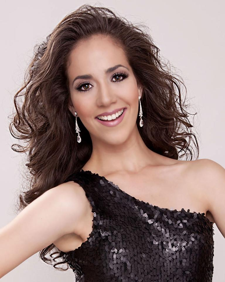 "Miss Puerto Rico, Laura Ramirez is a contestant in the ""<a href=""/2012-miss-america-pageant/show/48165"">2012 Miss America Pageant</a>."""