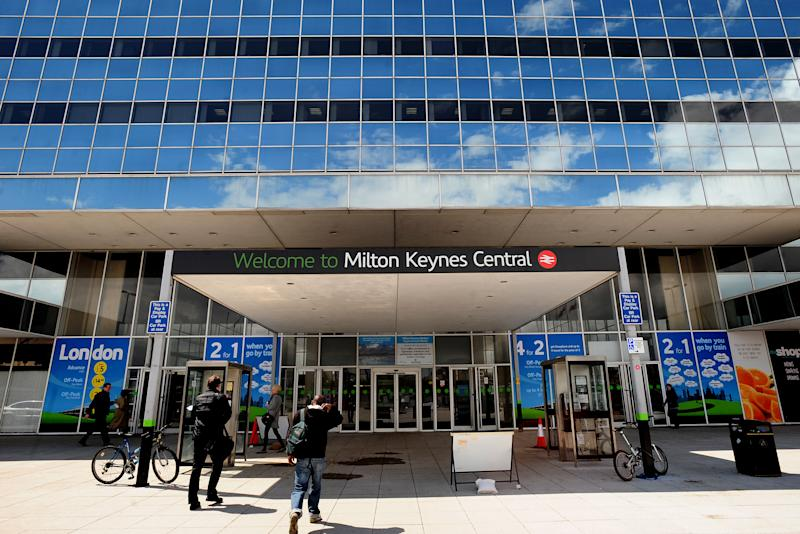 General view of Milton Keynes Railway station. (Photo by Rui Vieira/PA Images via Getty Images)