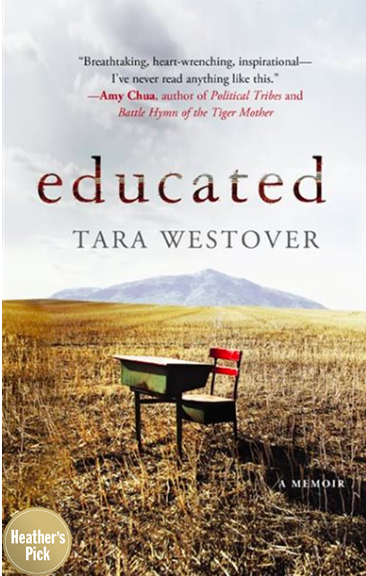Educated by Tara Westover (Photo via Chapters Indigo)