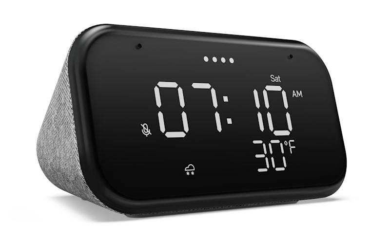 Here's a Cute New Lenovo Smart Clock for $50