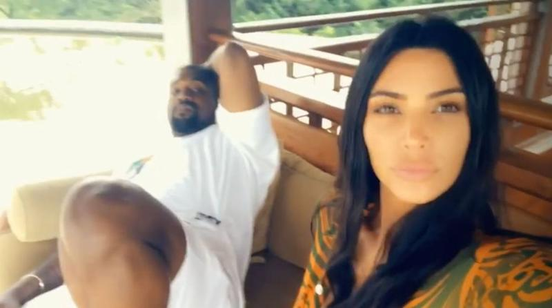 Kanye West and Kim Kardashian | Kim Kardashian/Instagram