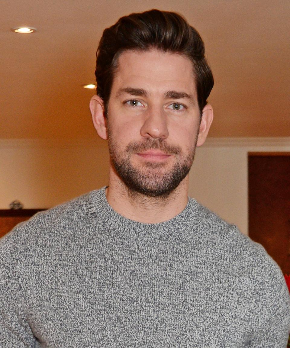 """<strong><h2>2018</h2></strong> <br> Can we officially agree that Krasinski's scruff is his best look? <span class=""""copyright"""">Photo: Dave Benett/Getty Images.</span>"""