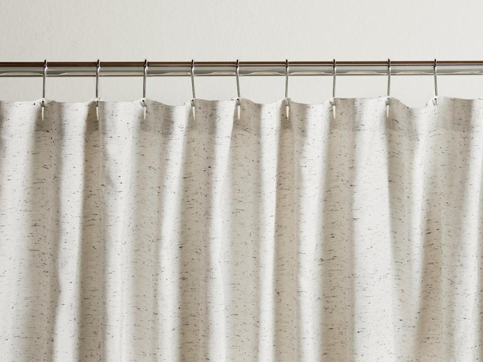 """This curtain is made completely fromTurkish cotton. <a href=""""https://fave.co/38Vznaq"""" target=""""_blank"""" rel=""""noopener noreferrer"""">Originally $89, get it now for 20% off at Parachute</a>."""