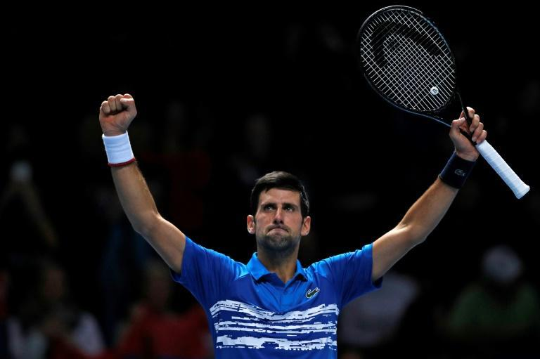 Novak Djokovic is aiming for a record-equalling sixth title at the ATP Finals in London