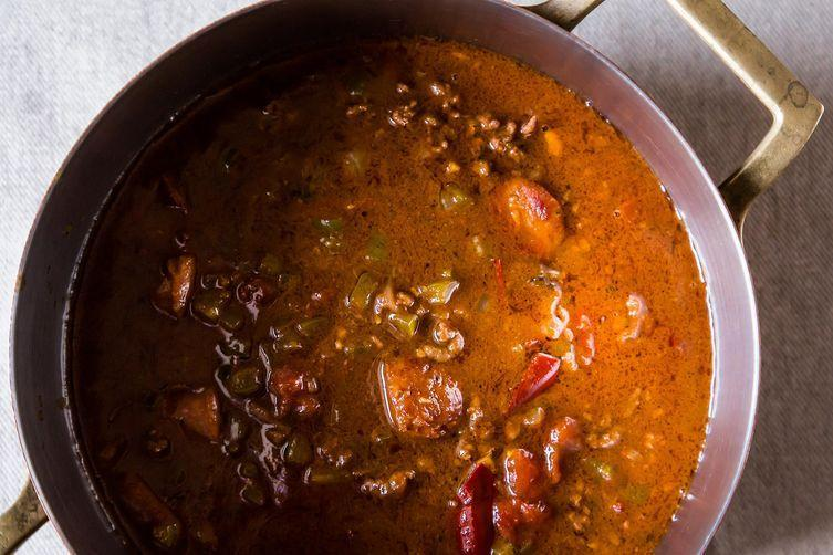 Chili gumbo from Food52