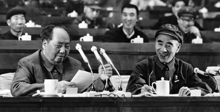 Sidney Rittenberg was invited into the inner circle of Chairman Mao Tse-tung, pictured (left) in Beijing April 14, 1969