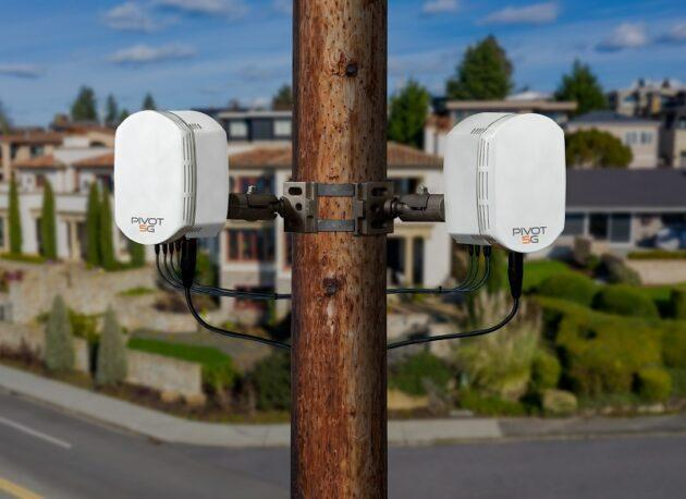 Pivotal Commware's Pivot 5G outdoor network repeaters can give a millimeter-wave boost to 5G wireless communications. (Pivotal Commware Photo)
