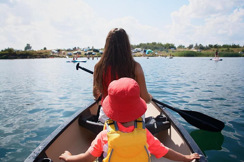 A grandmother's warning about life jackets is going viral. (Photo: Getty Images)